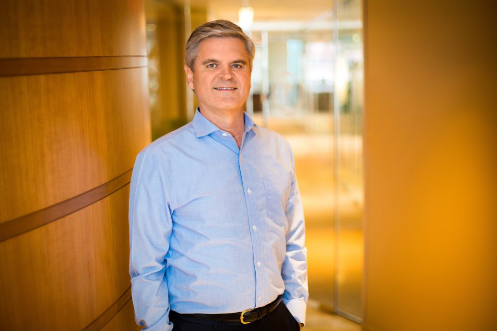 Portrait of Steve Case, chairman and CEO of Revolution LLC