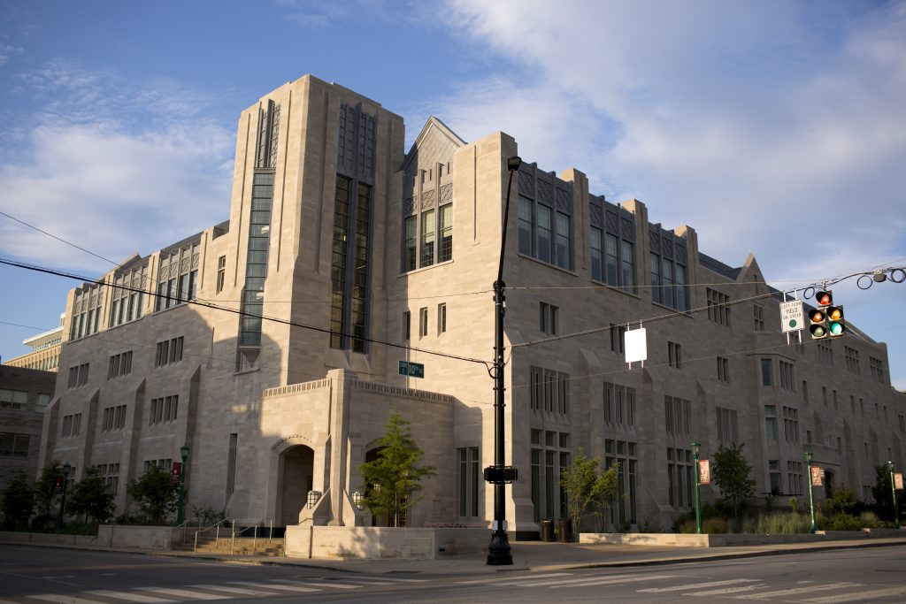 Hodge Hall at the Kelley School of Business on the IU Bloomington campus