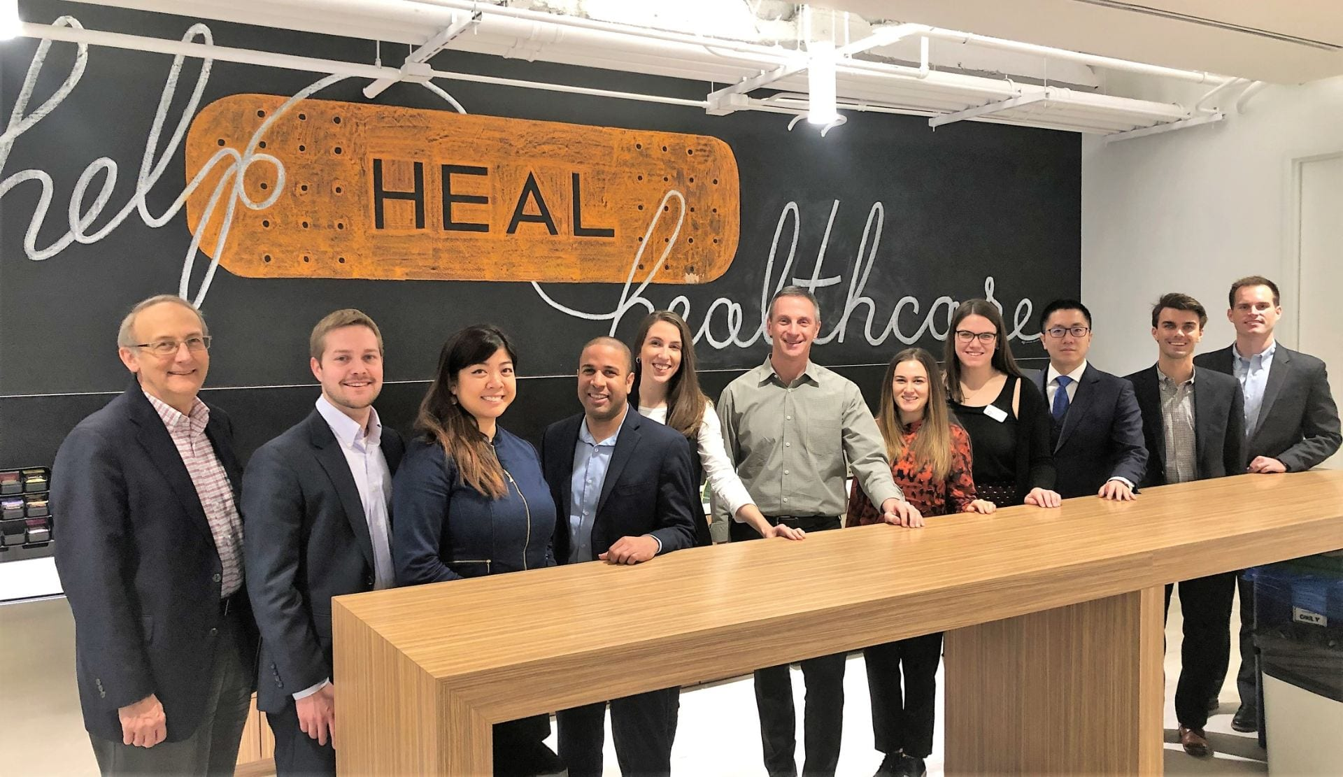 Kelley Healthcare Students Trek to Chicago Visiting Life