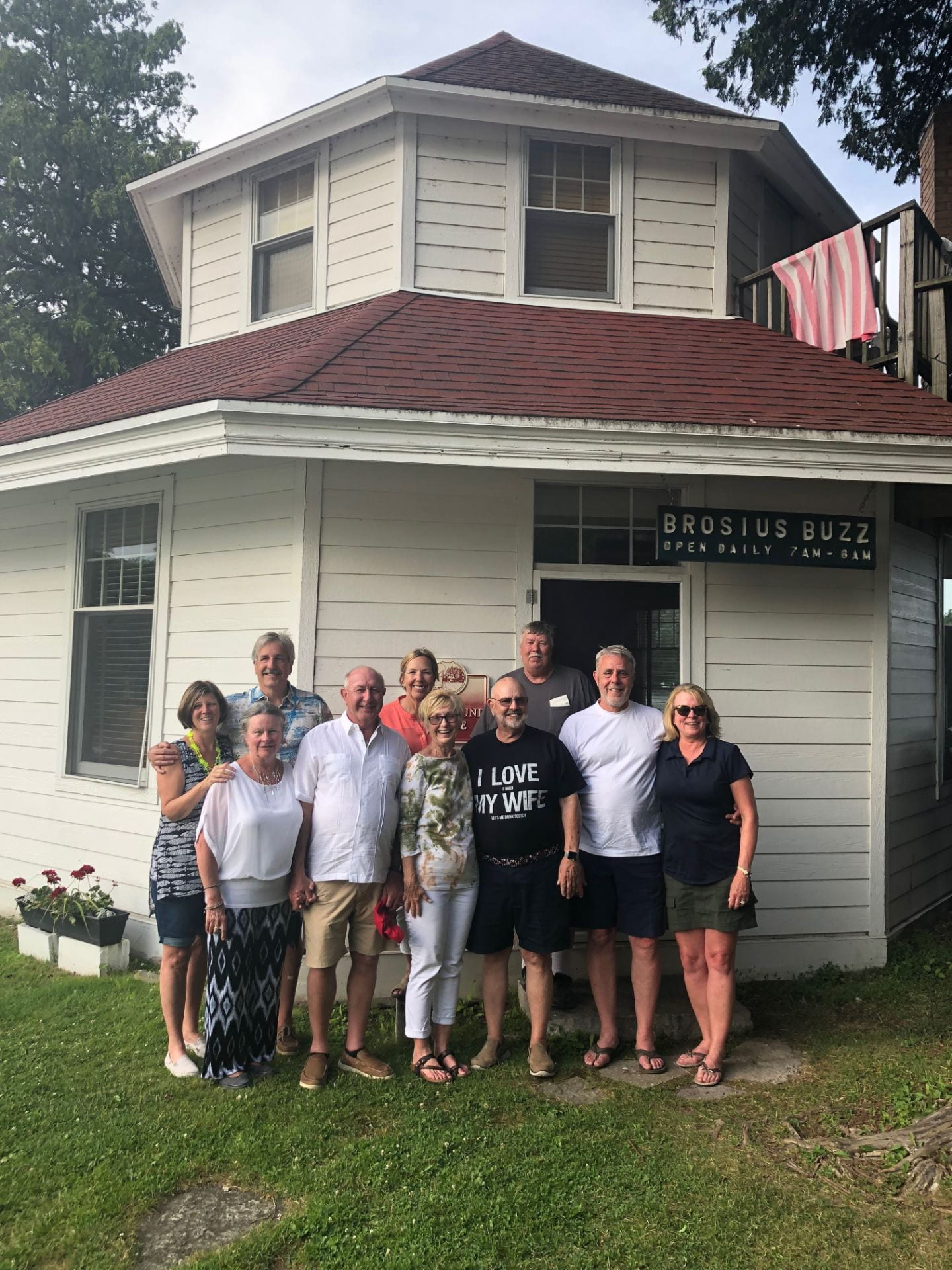 Part of Generation 4 – Penny, Chris, Dennis, Ted, Sara, Ann, Fred, Rick, Ed & Joan