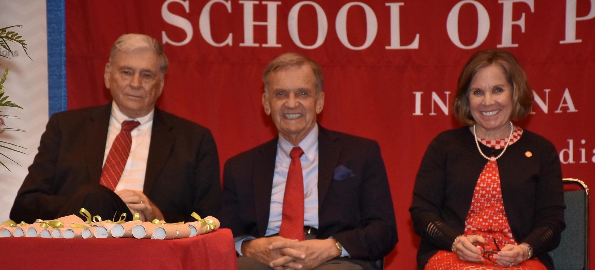 Dr. Bill Enright, Jerre Stead, Maureen Hackett
