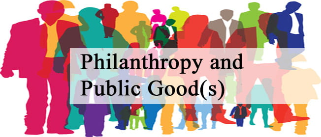 philanthropy and the public good