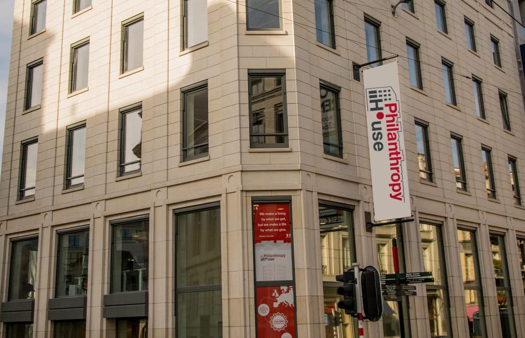 Philanthropy House in Brussels, Belgium.