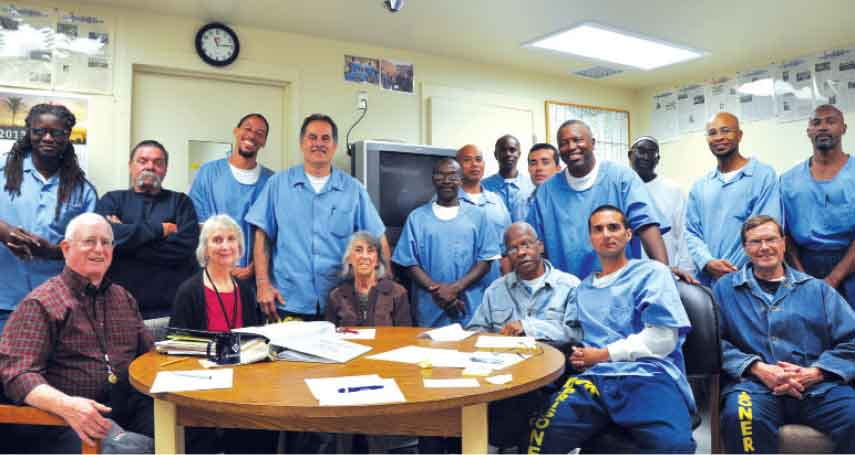 Photo courtesy of the San Quentin News