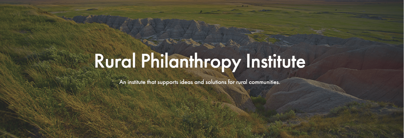 Rural Philanthropy Institute