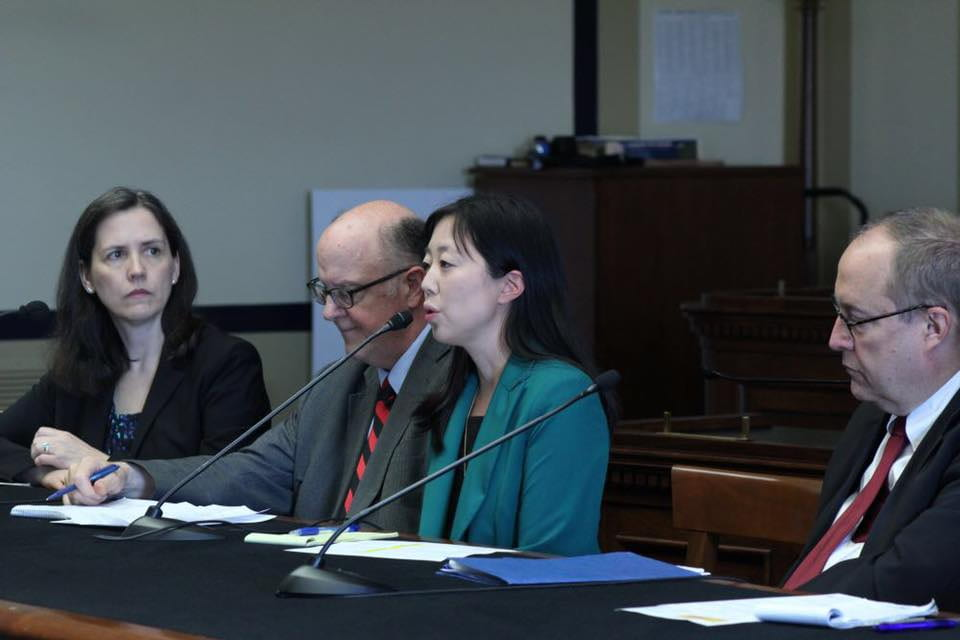 Jenny Yang helped organize and speak at a Congressional briefing in July 2019 advocating for refugee resettlement as a core part of the international religious freedom agenda, alongside Jewish, Yezidi, evangelical, Catholic and mainline Protestant colleagues.
