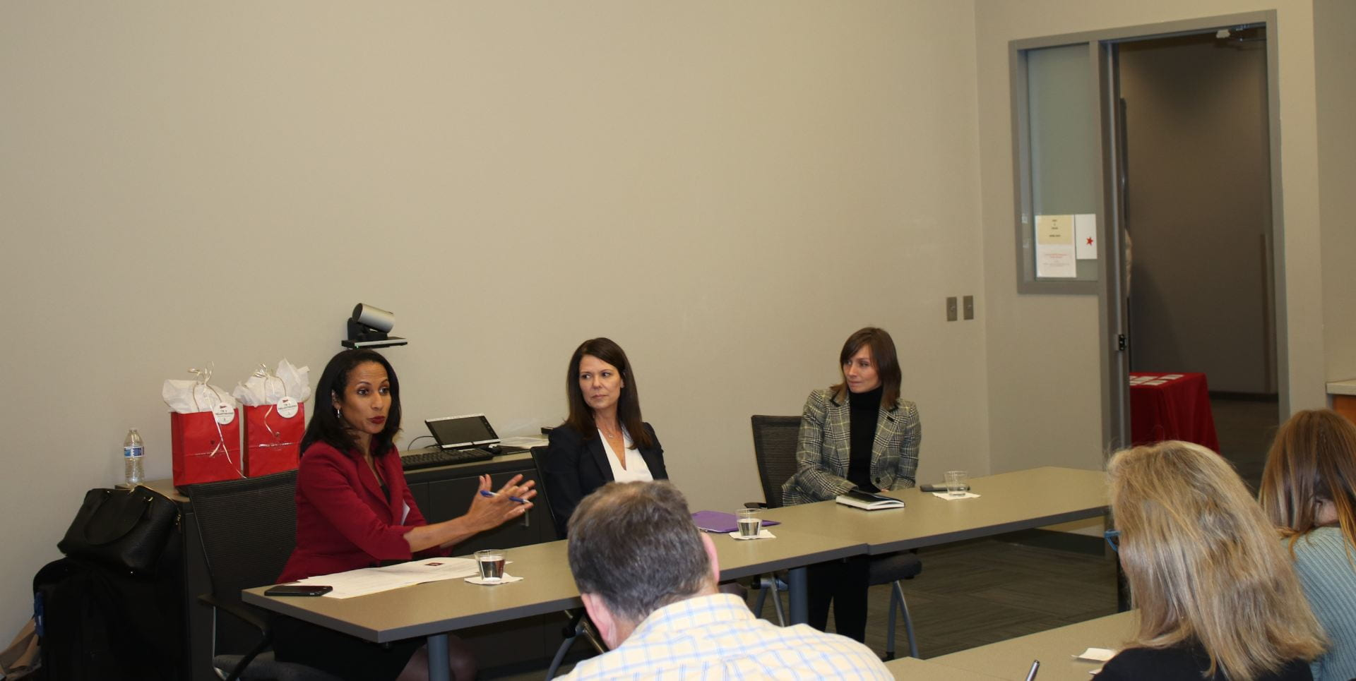 Dr. Una Osili, Kristen Robinson, and Sarah Gelfand discuss donor-advised funds and Fidelity Charitable.