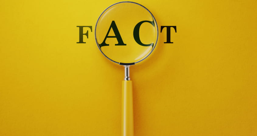 What is a fact? Photo Credit: Getty Images/iStockphoto