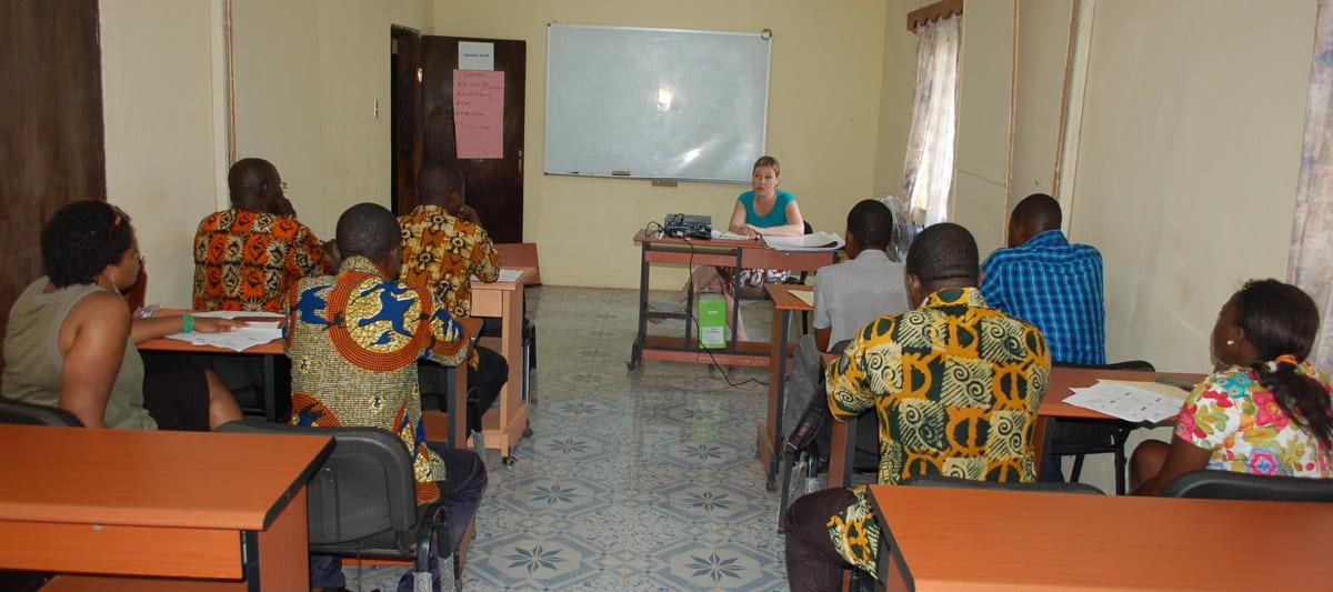 Liberian classroom