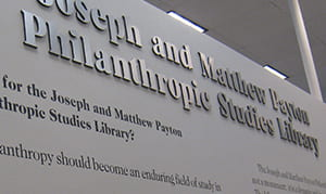 philanthropic studies library