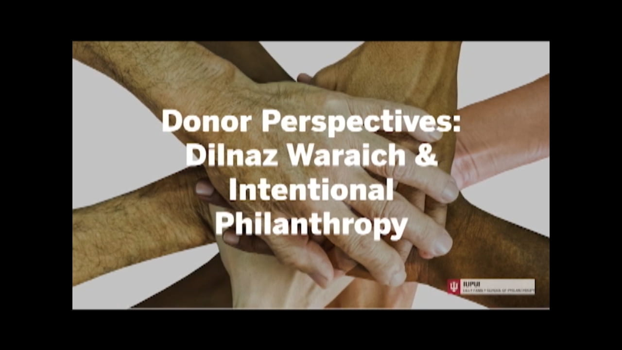 donor perspectives