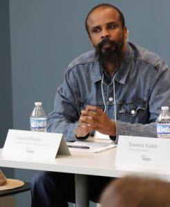 Assefa Dibab, a PhD researcher in folklore at IU