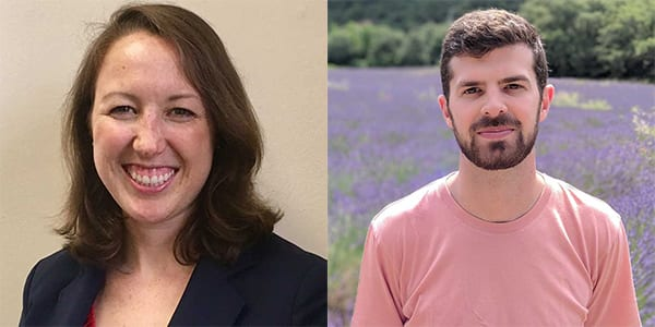 "Hamilton Lugar alum Christen Gallagher and Daniel Mundell named to The College Magazine's ""20 under 40"" list"