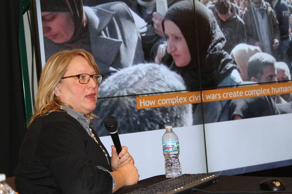 Elizabeth Dunn, Syria Roundtable