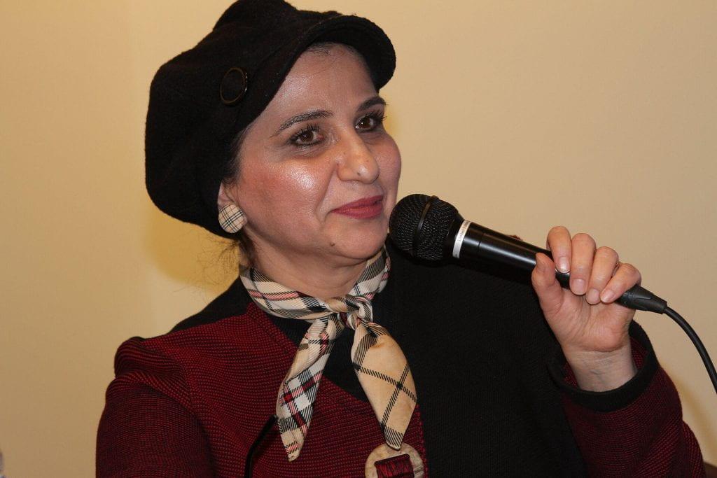 Aleppo native and SGIS faculty member Iman Alramadan