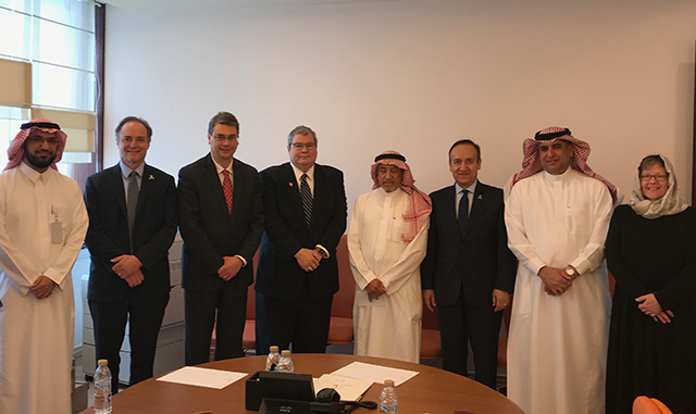 Meeting with Saudi Ministry of Education with a special focus on their scholarship programs.
