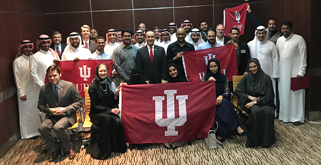 IUPUI and IU Alumni Reception in Dammam, Saudi Arabia