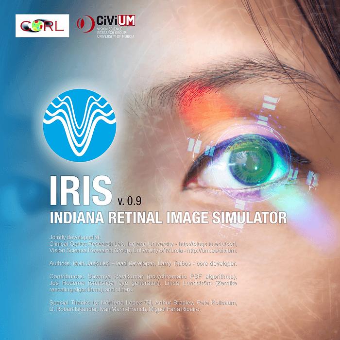 IRIS – Indiana Retinal Image Simulator – Clinical Optics Research Lab