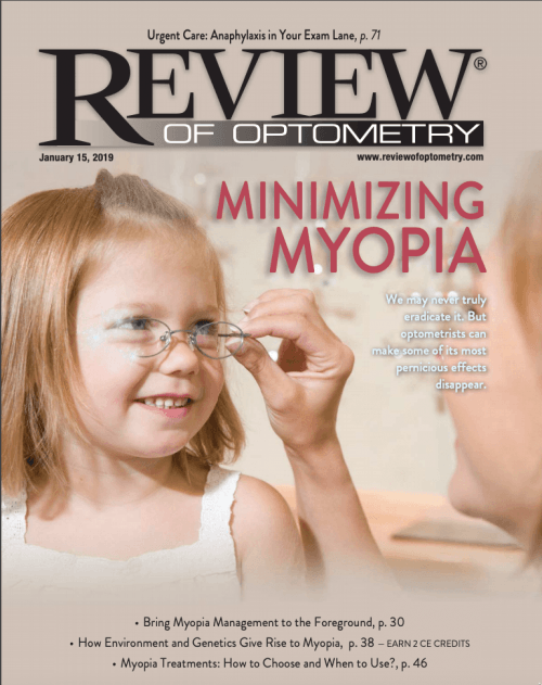 Review of Optometry Jan 2019 (Myopia Issue) – Clinical Optics