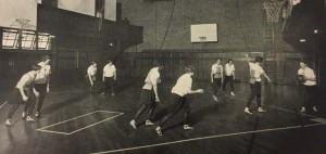 1928 Women Playing Basketball. Arbutus 1928