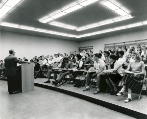 Classroom Scene at IU's Gary Center, 1959. Courtesy of Calumet Regional Archives, IU Northwest.
