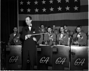 "Gus Arnheim Orchestra,"" 22 February 1941. Photo courtesy of IU Archives, P0028213."