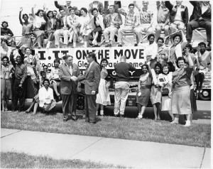 IU Moves to Glen Park, 1959. Courtesy of Calumet Regional Archives, IU Northwest.