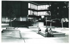 Library in the Evening Hours. Courtesy of Calumet Regional Archives, IU Northwest.
