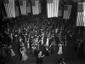 "Military Ball,"" 21 February 1942. Photo courtesy of IU Archives, P0043895."