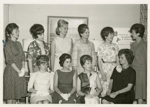 Dames Club, a subgroup of the IU Women's Club, 1950. Courtesy of the IU Archives Photograph Collection P0020778.