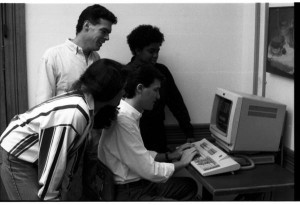 Courtesy of IU Archives, P0028174, 1990.