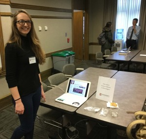 Ellen Glover created several podcasts as her final project.
