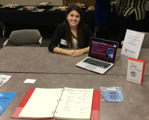 Jessica Ivetich worked with various student organizations on campus to encourage them to donate their archives for historical preservation.