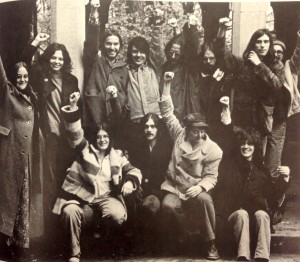 The Gay Liberation Front. Indiana University 1972 Arbutus, Office of University Archives and Records Management, Indiana University, Bloomington