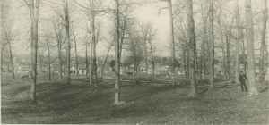 Dunn's Woods in 1890. Indiana University Archives Photograph Collection, P0022323