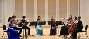 String ensemble performing