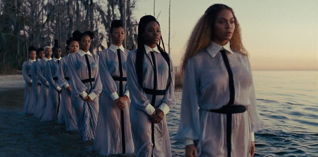 Still image from Beyoncé's Lemonade