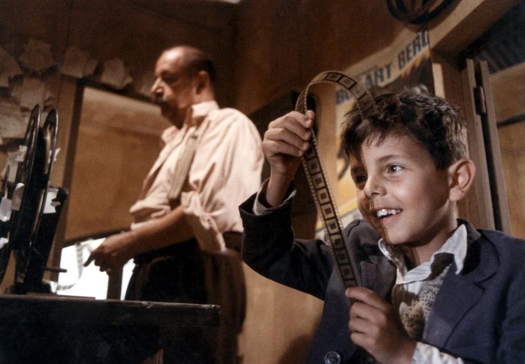 Still Image from Giuseppe Tornatore's Cinema Paradiso.