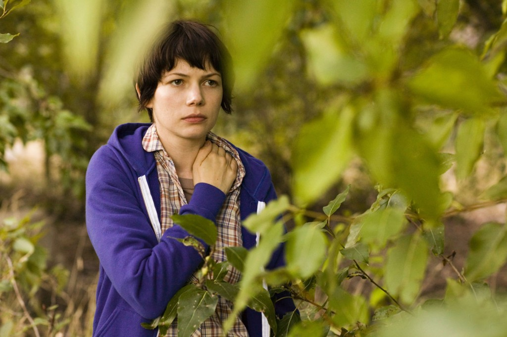 Michelle Williams in Kelly Reichardt's Wendy and Lucy