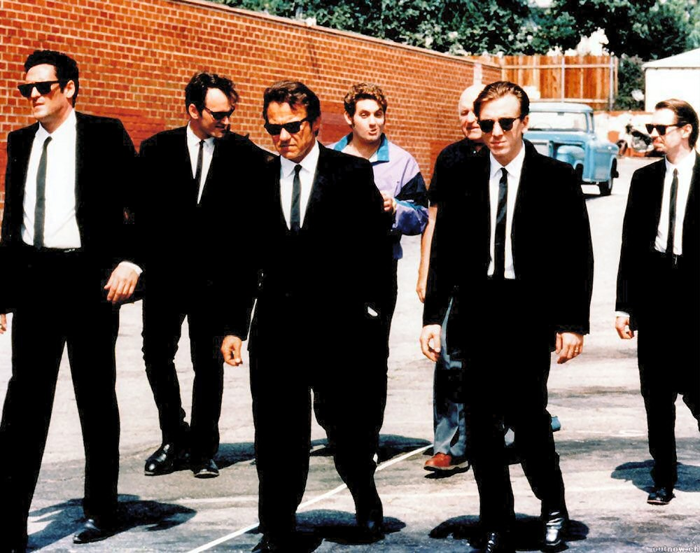 Still image from Reservoir Dogs.