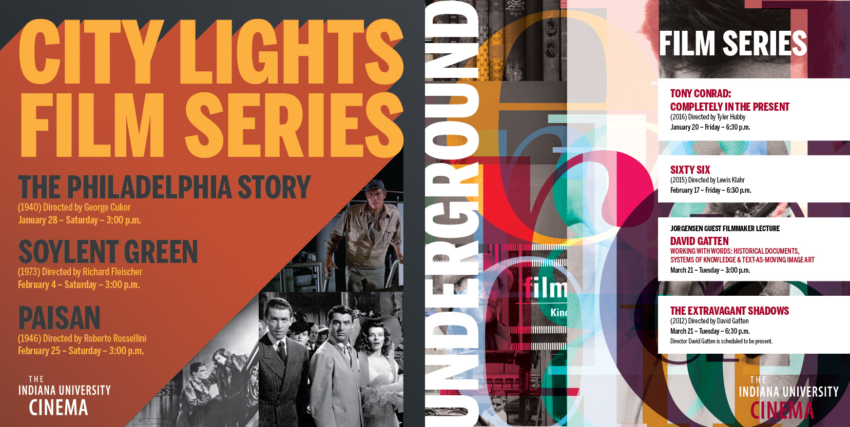 City Lights and Underground Film Series