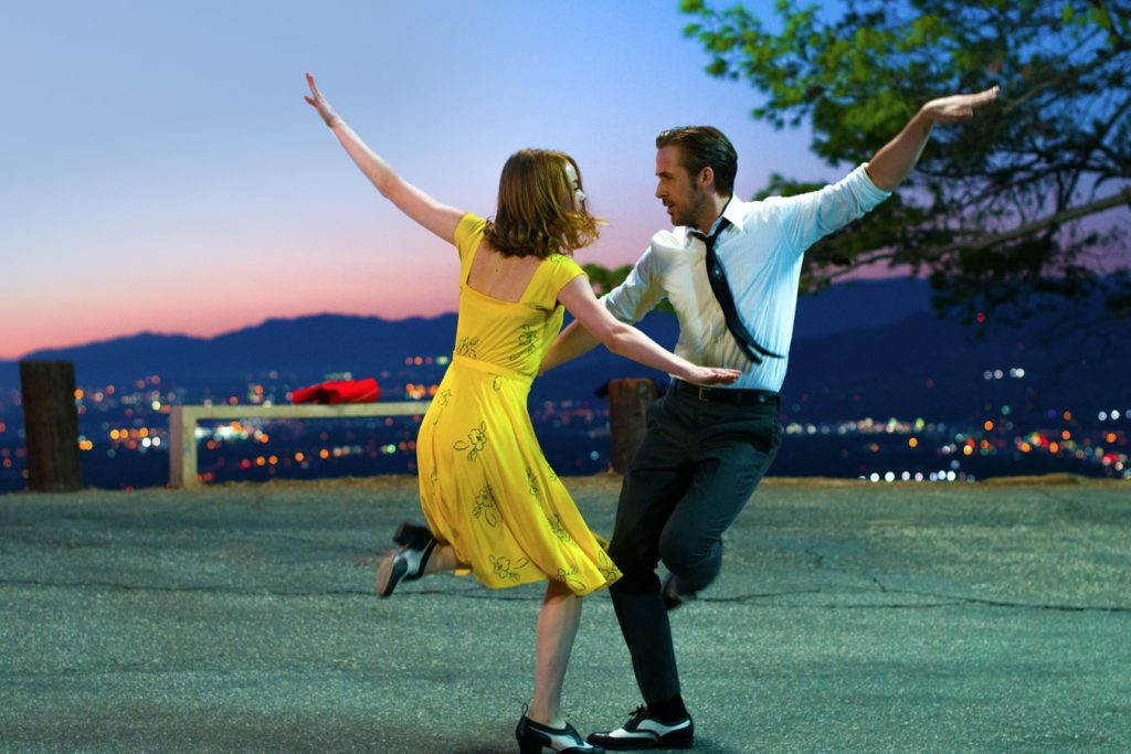 Still image from La La Land directed by Damien Chazelle.