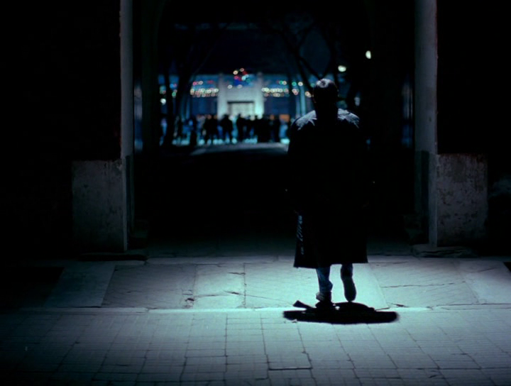 Still image from Black Snow directed by Xie Fei.