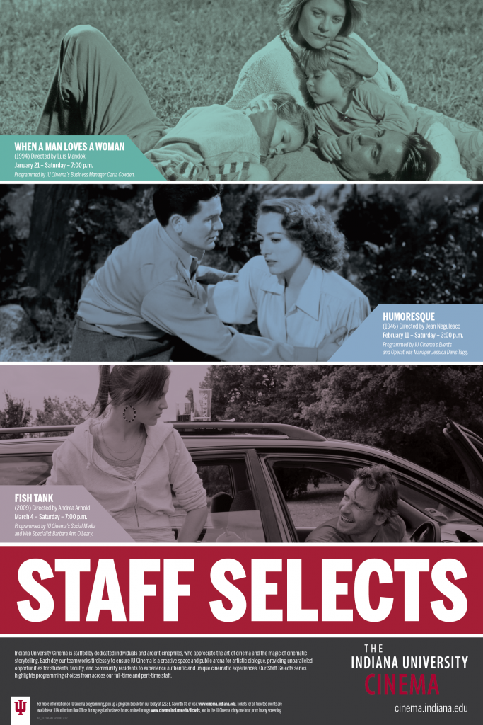 Staff Selects Film Series Poster