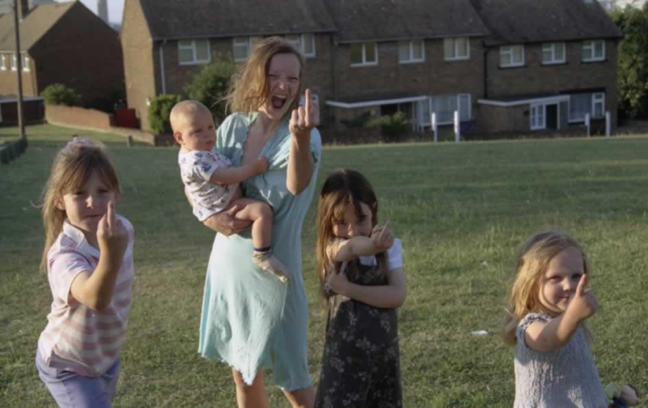 Still image from Andrea Arnold's Oscar winning short film Wasp.