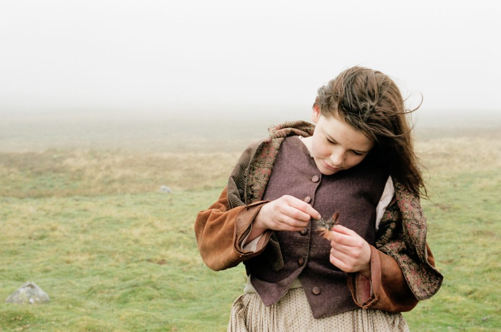 Still image from Andrea Arnold's Wuthering Heights.