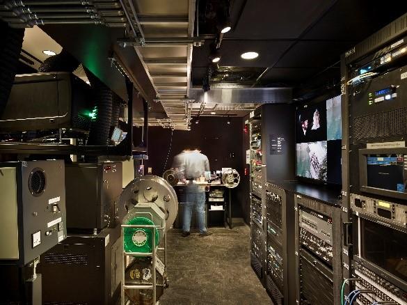 IU Cinema Booth