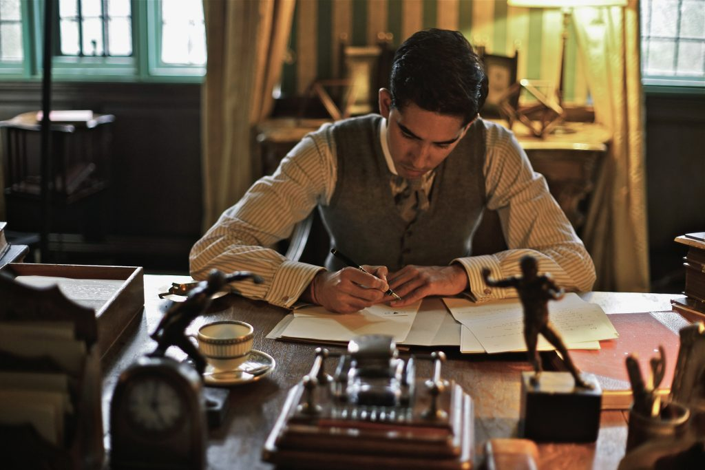 Still image from The Man Who Knew Infinity