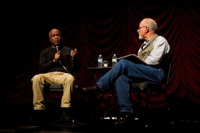 Filmmaker Charles Burnett and BFC/A Director Michael T. Martin
