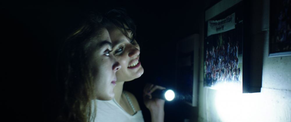 Alexia (Ella Rumpf) and Justine (Garance Marillier) in Raw